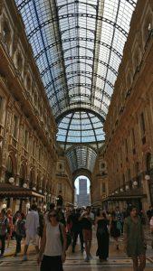 What we did in Milan - Galleria Vittorio Emanuele II