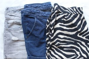 What I pack with carry-on: shorts