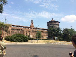 What we did in Milan - Castello Sforzesco