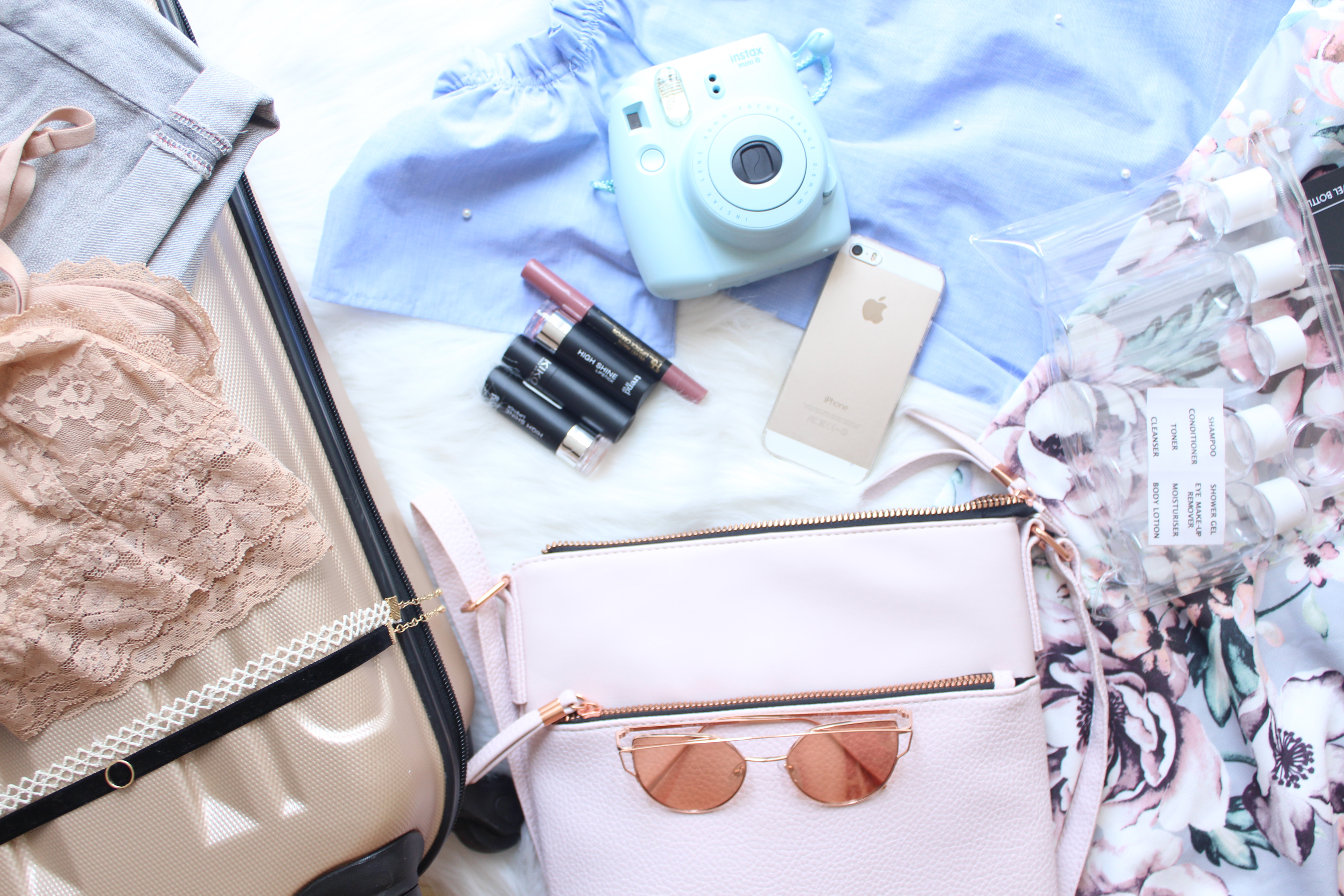 What I pack when only taking carry-on