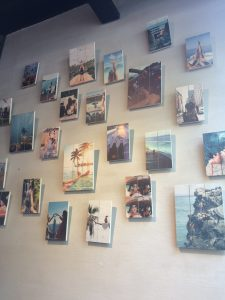 City trip Antwerp: Photo wall at FitHap