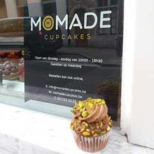 City trip Antwerp: Cupcake from Momade cupcakes