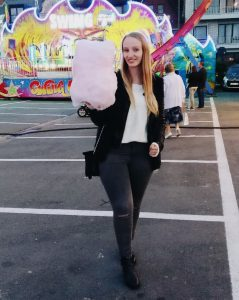 Week in my life back to Schoo: my cotton candy