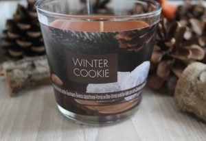 Favorites of november: Winter Cookie Candle