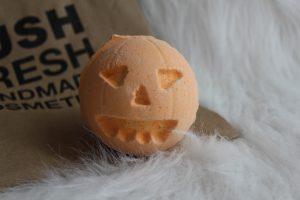 Favorites of November: Pumpkin Bath Bomb
