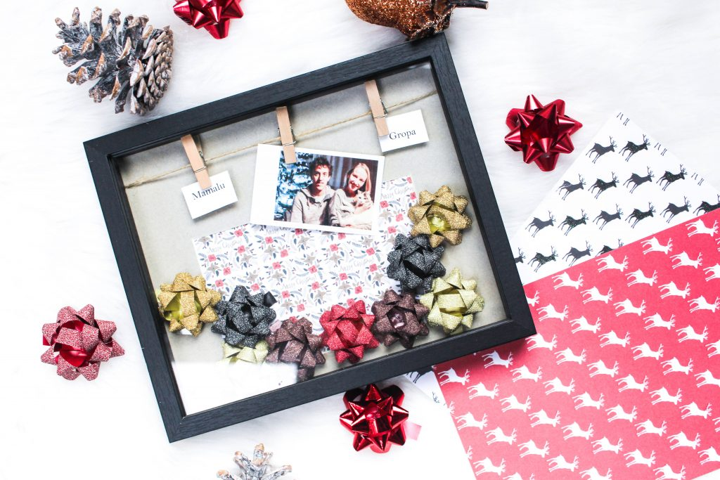 Christmas DIY: Picture frame