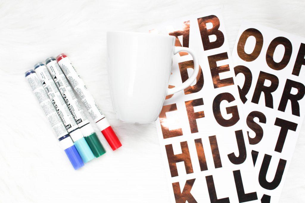 Christmas DIY: Personalized Mug