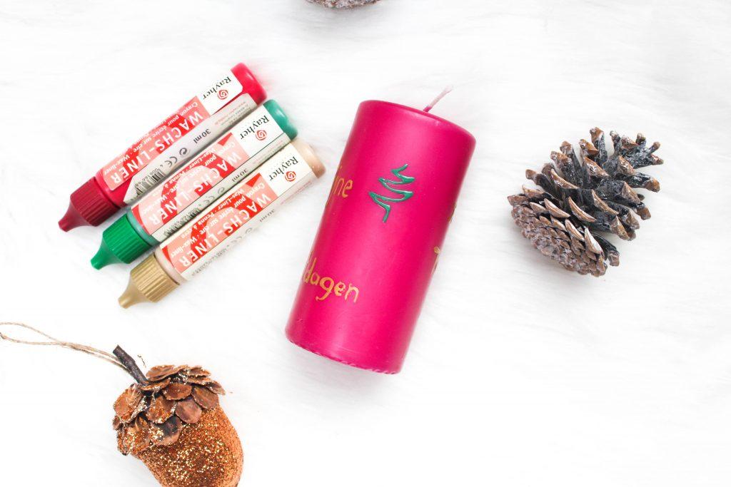 Christmas DIY: Festive Candle