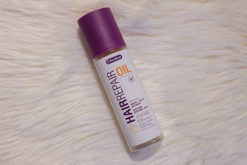 My haircare routine: detangled spray