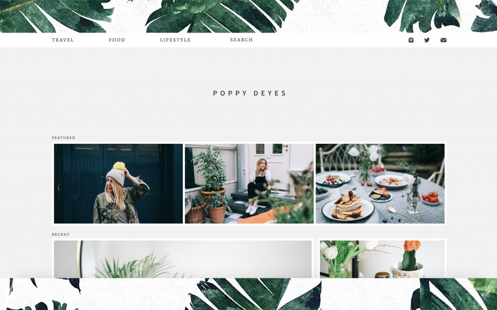 Blogs I follow: Poppy Deyes