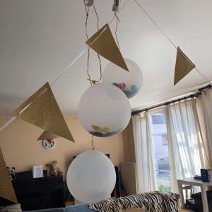 My 22nd birthday: balloons