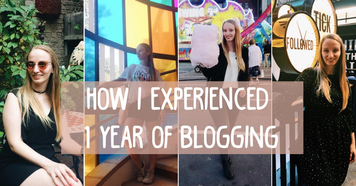 How I experienced one year of blogging