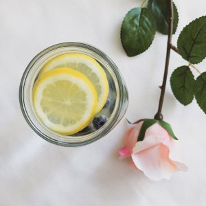 Favourites of the month July 2018: Fruit infused water