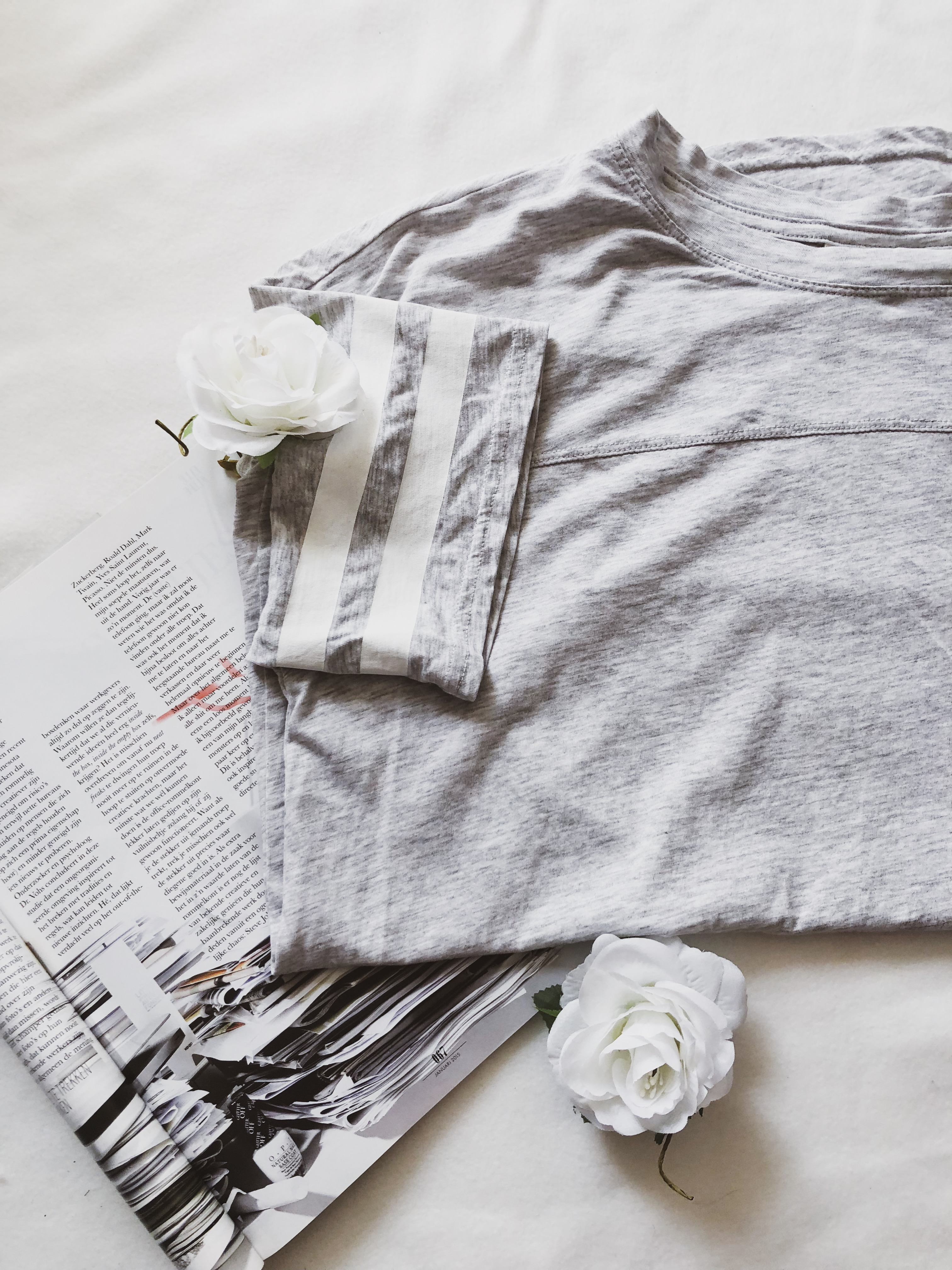What I got in sales: Grey shirt H&M