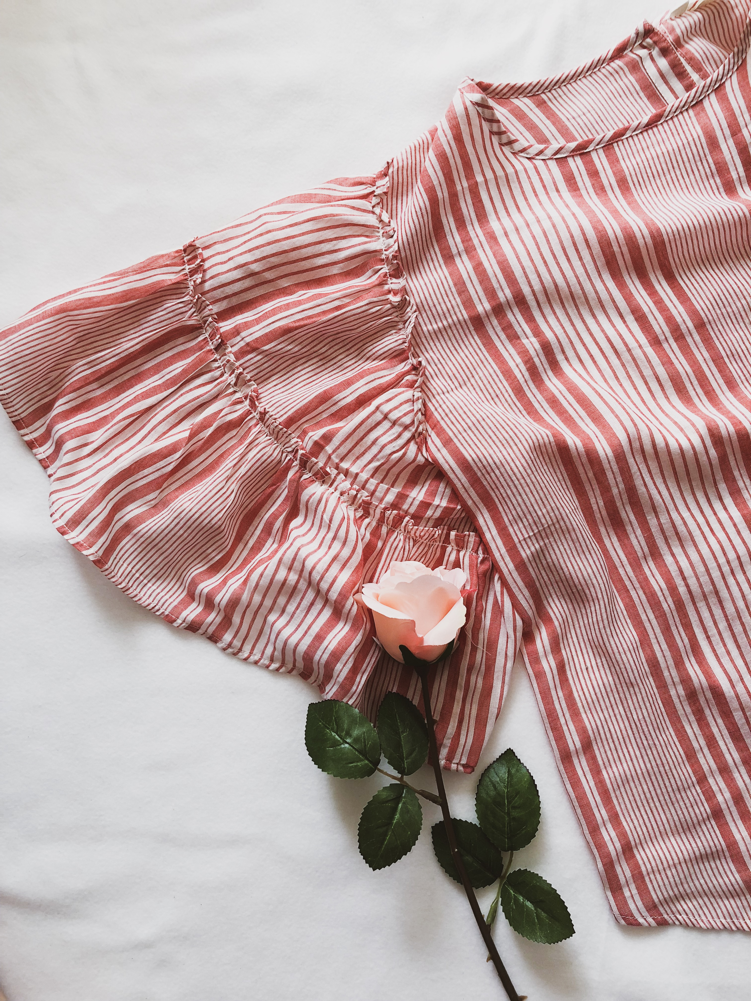 What I got in sales: Pink flowy shirt H&M